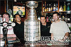 The Stanley Cup and Steve Tyler on The Bustonian